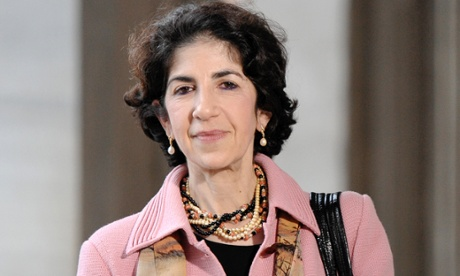 Fabiola Gianotti CERN's next Director-General, Rome, Italy - 06 Nov 2014